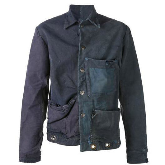 Greg Lauren One of a Kind Jacket - Blue Patches