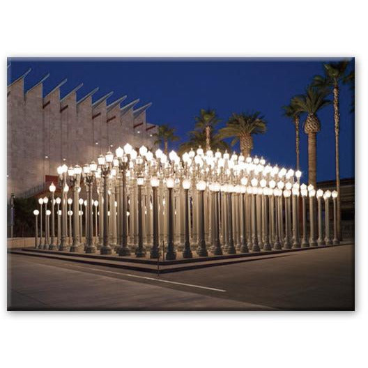Chris Burden Urban Light Magnet