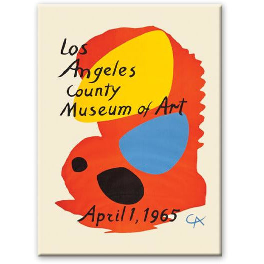Calder Los Angeles County Museum of Art LACMA magnet