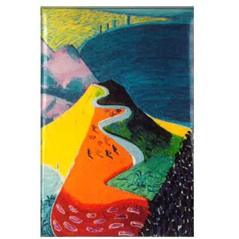 David Hockney Pacific Coast Highway Santa Monica Magnet