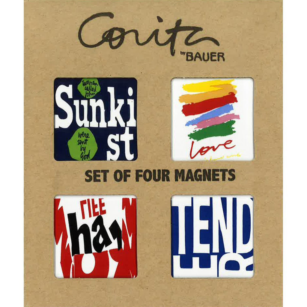 Corita Kent Set of 4 Love Series Magnets