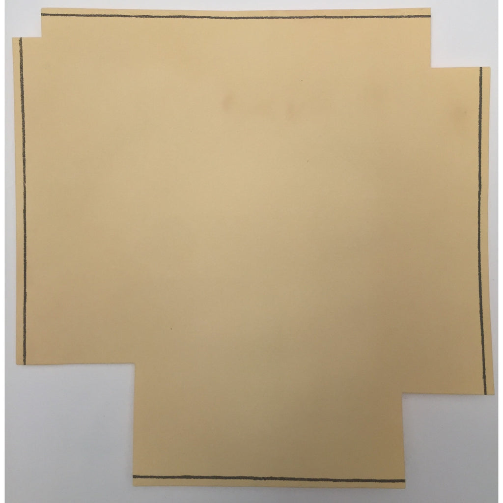 "Robert Mangold, ""A Square with Four Squares Cut Away"" Print, 1976"