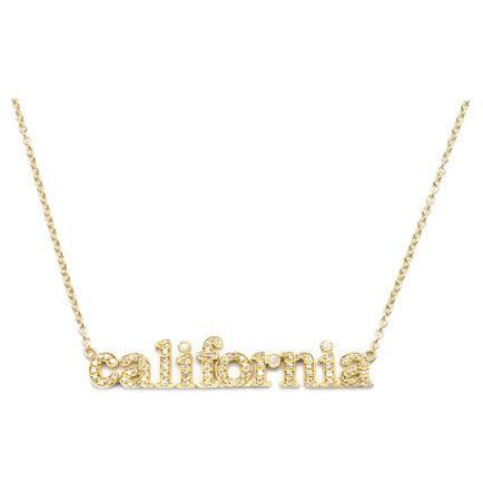 Jennifer Meyer California 18-Kt Gold and Diamond Necklace