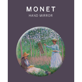 Claude Monet In the Woods at Giverny Hand Mirror
