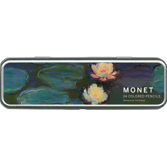 Claude Monet Nympheas Colored Pencil Kit