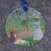 Claude Monet In the Woods at Giverny Ceramic Ornament