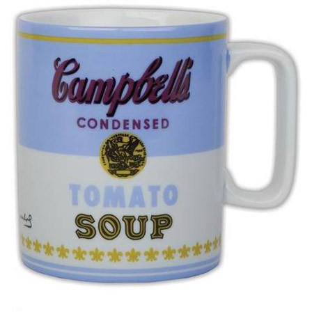 Andy Warhol Campbell's Soup Mug - Blue