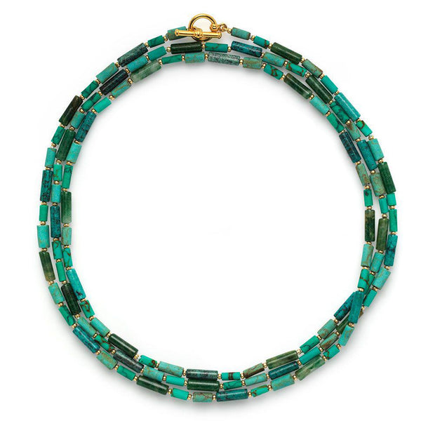 Egyptian Multistrand Necklace
