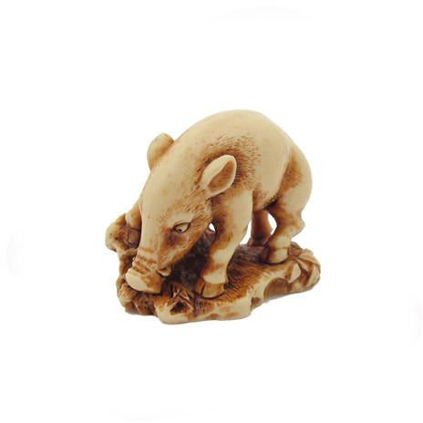 Wild Boar LACMA Reproduction Netsuke