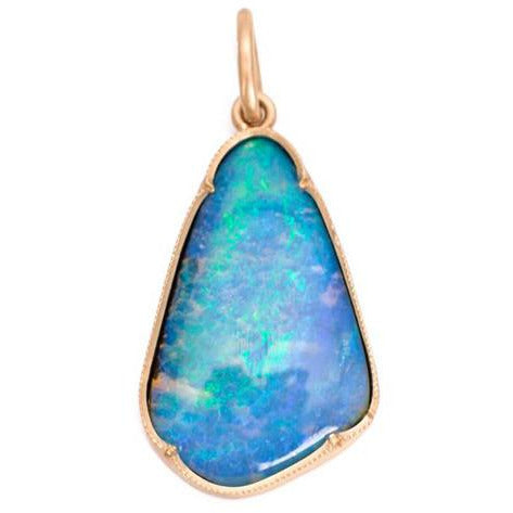 Irene Neuwirth Boulder Opal in 18-kt Rose Gold Pendant