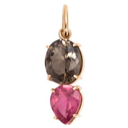 Irene Neuwirth Double Pink Tourmaline 18-kt Rose Gold Pendant