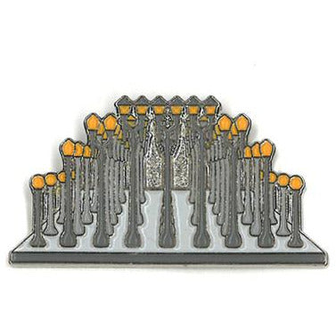 Chris Burden Urban Light Pin