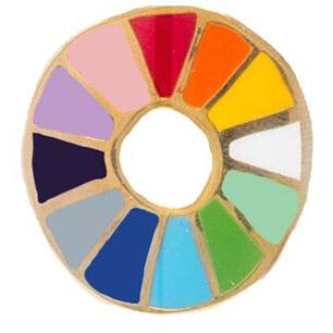 Colorwheel Lapel Pin