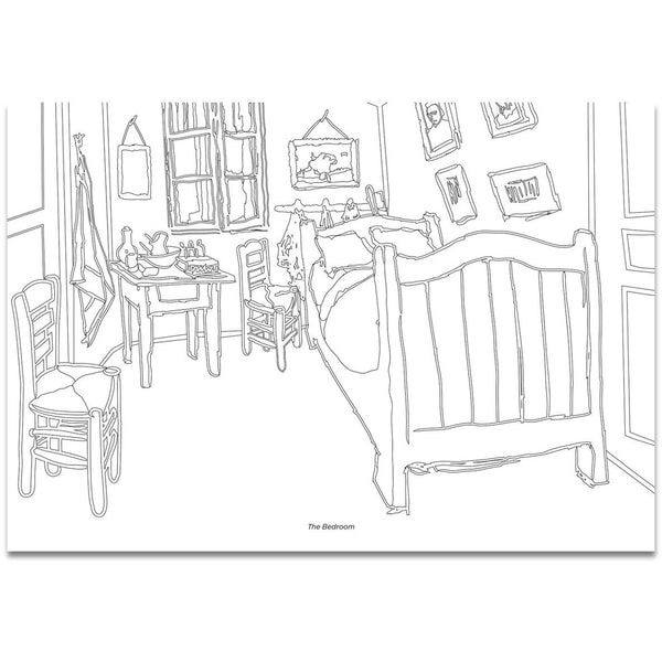Color Your Own Van Gogh Coloring Book – LACMA Store