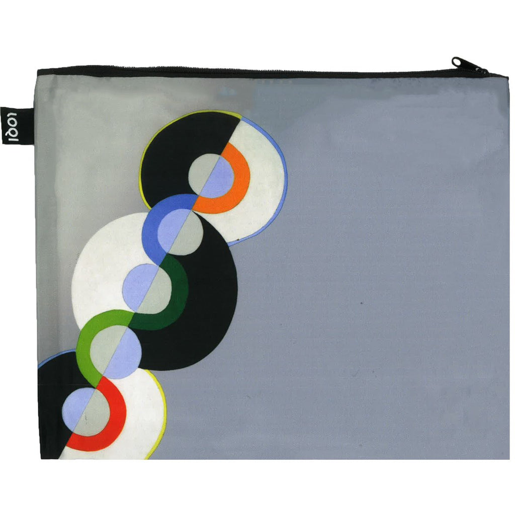 Robert Delaunay Endless Rhythm Maxi Zip Pouch
