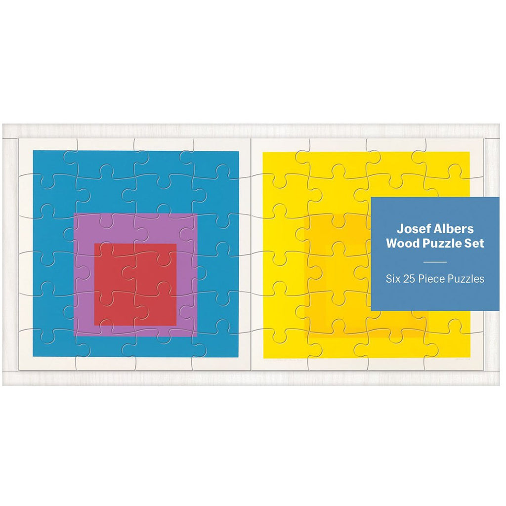 Josef Albers Set of 6 Wooden Puzzles