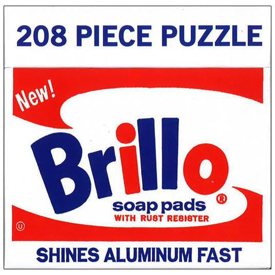 Andy Warhol Brillo Puzzle