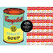 Andy Warhol Soup Can 2-in-1 Double Sided 500 Piece Puzzle
