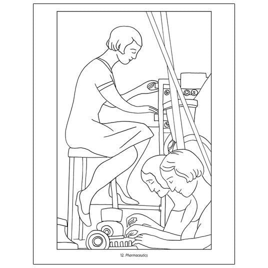 diego rivera coloring pages - photo#15