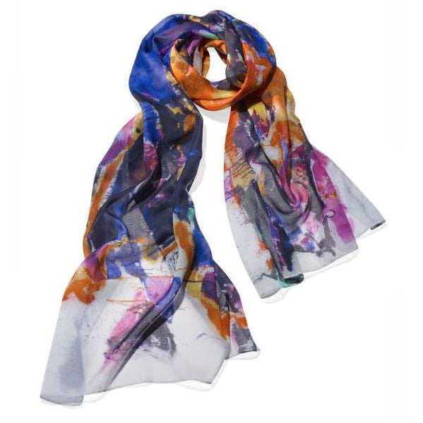 Sam Francis Toward Disappearance Scarf