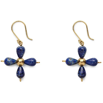Lapis Byzantine Gems Drop Earrings