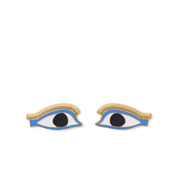 Egyptian Eye Stud Earrings