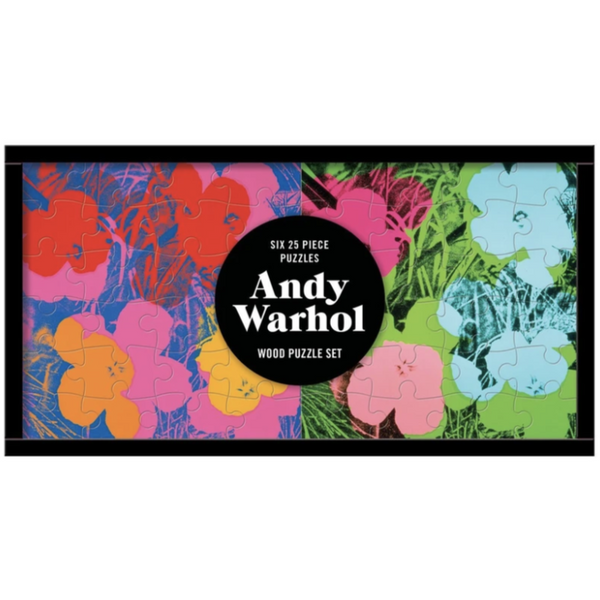 Andy Warhol Set of 6 Wooden Puzzles