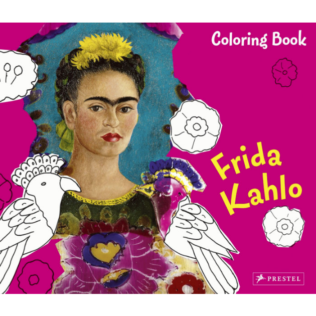 - Coloring Book Frida Kahlo – LACMA Store