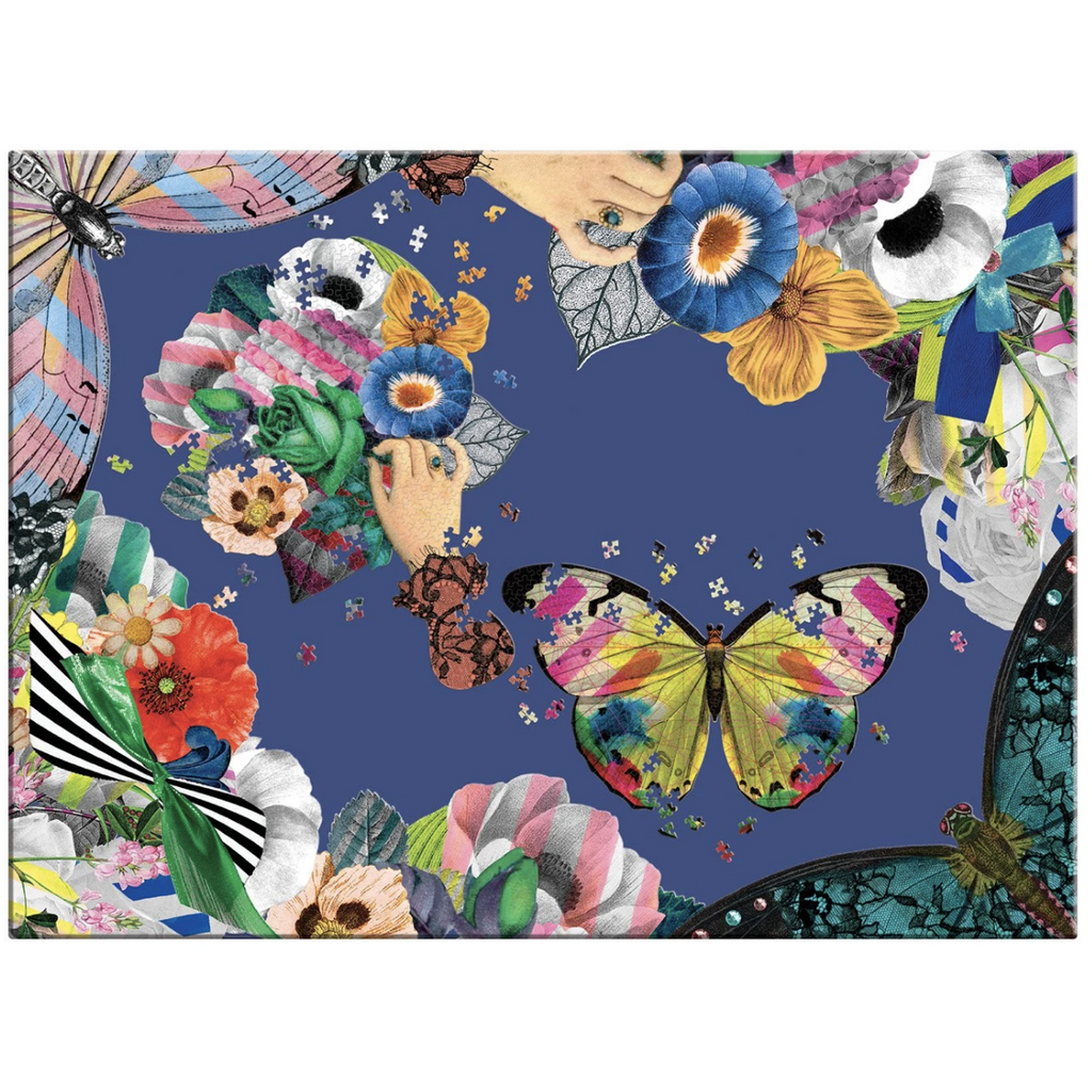 Christian Lacroix Frivolites Set of 2 Shaped Puzzles