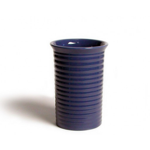 Bauer 9 inch Ringware Vase in Federal Blue