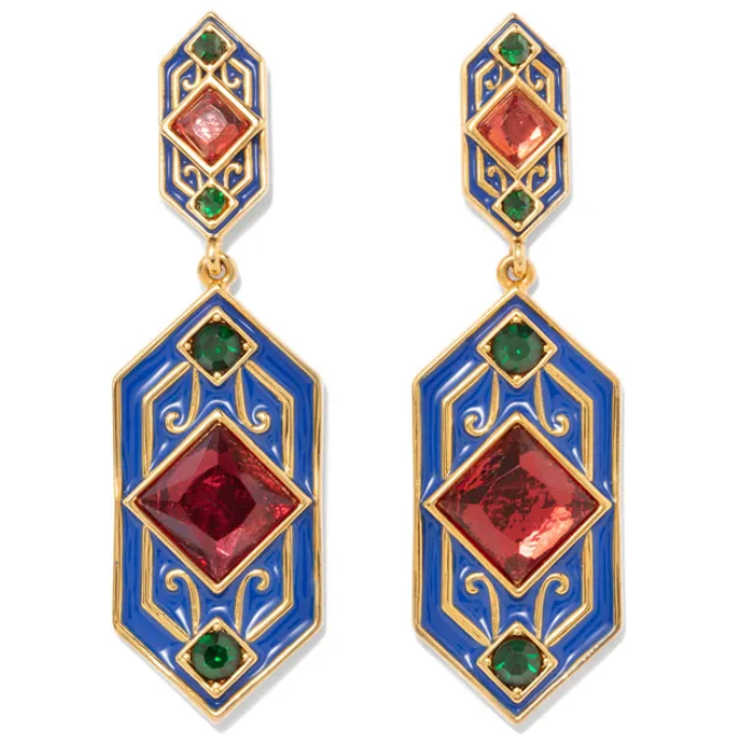 Renaissance Revival Drop Earrings