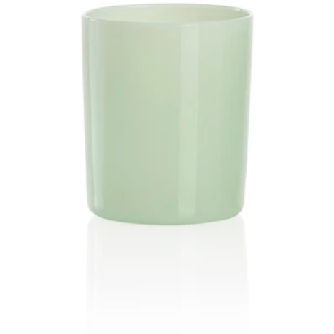 Set of Four Tumblers in Mint Green