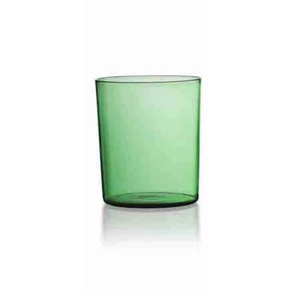 Set of Four Tumblers in Green