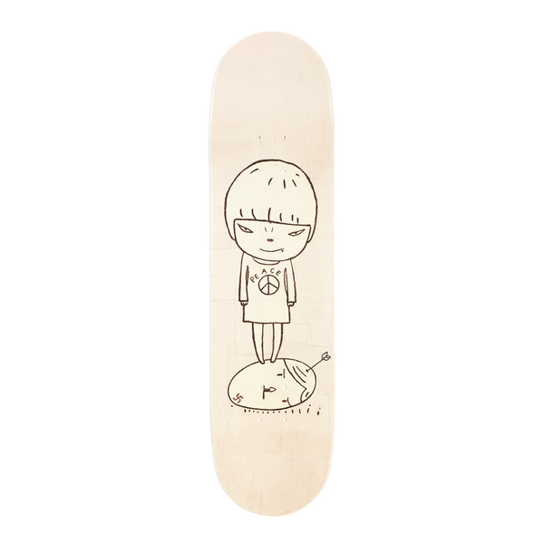 Yoshitomo Nara Peace Girl Skateboard Deck
