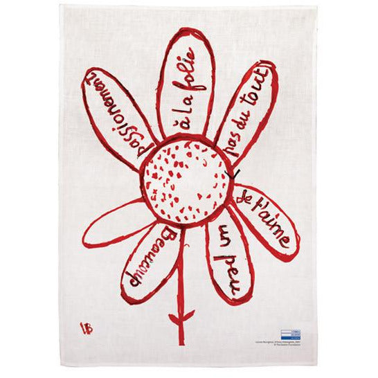 Louise Bourgeois 'Virtues theologales' Tea Towel