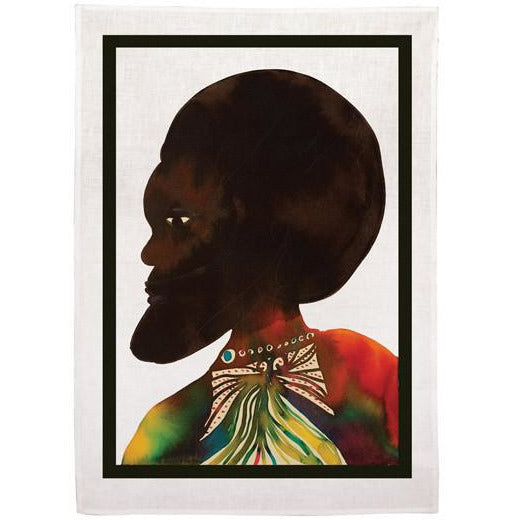 Chris Ofili 'Afromuses' Tea Towel (Man)