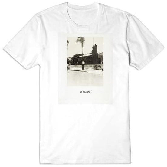 John Baldessari WRONG T-shirt