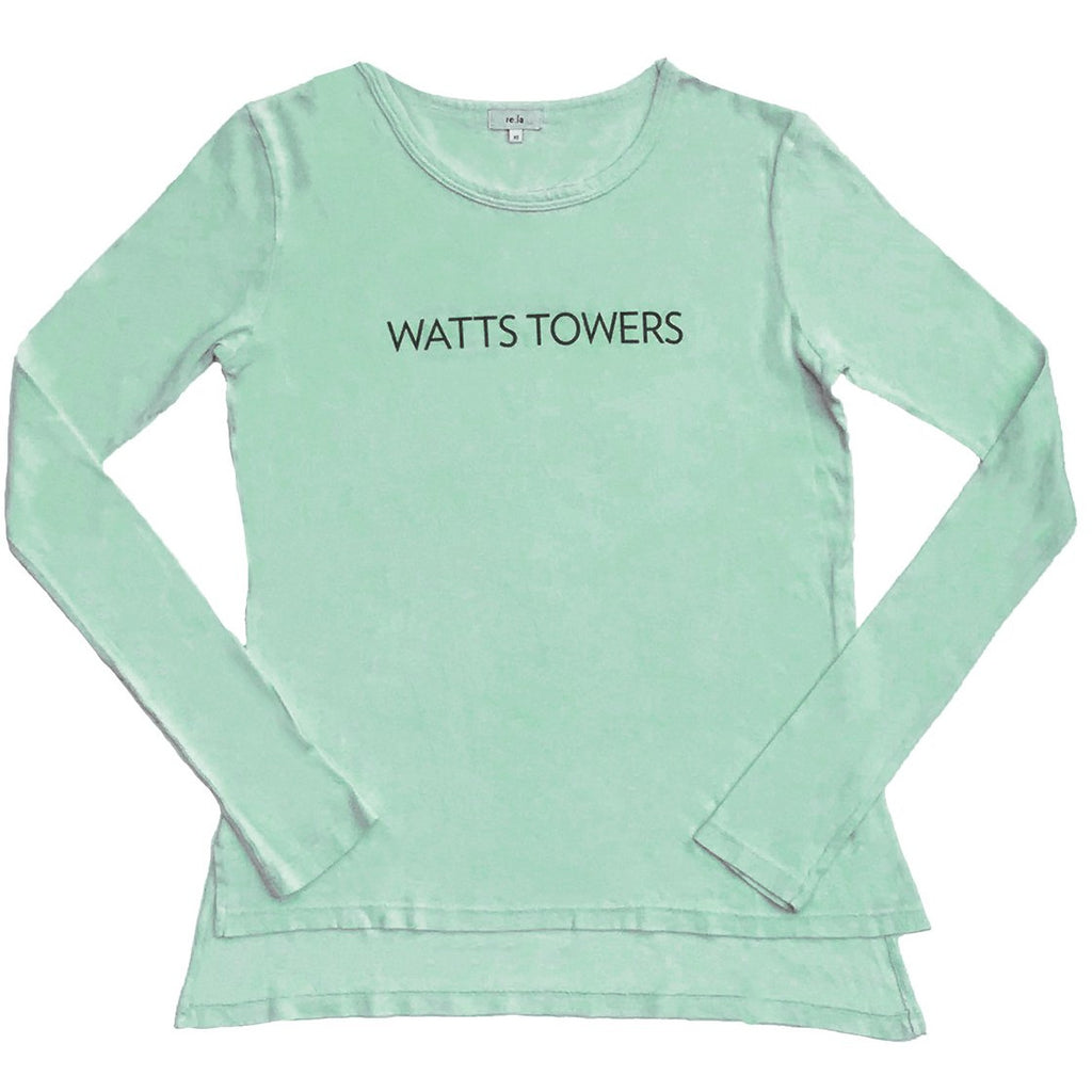re:la Women's Watts Towers Long Sleeve T-shirt