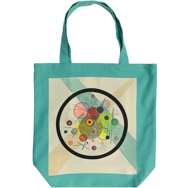 Wassily Kandinsky Study for Circles in the Circle Tote