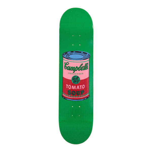 Andy Warhol Campbell's Soup Can Blood Skateboard Deck