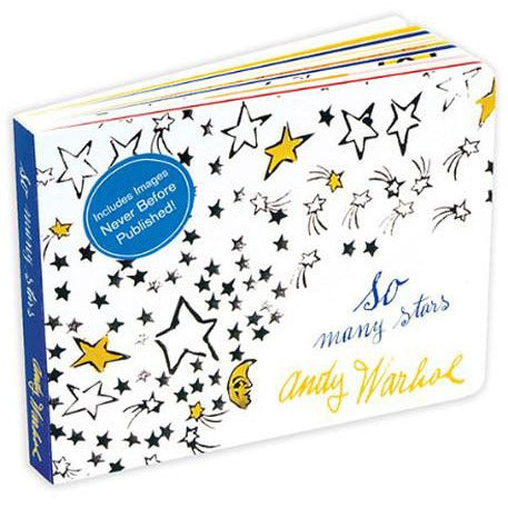 Andy Warhol 'So Many Stars' Board Book