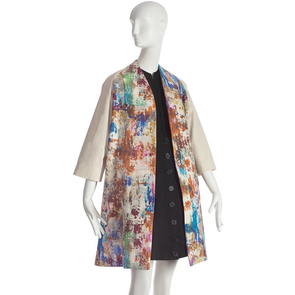 Wolk Morais Dolman Sleeve Swing Coat