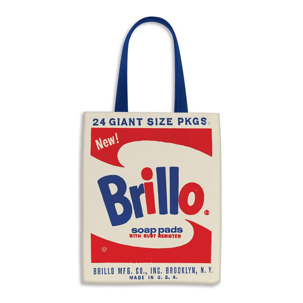 Andy Warhol Brillo Canvas Tote