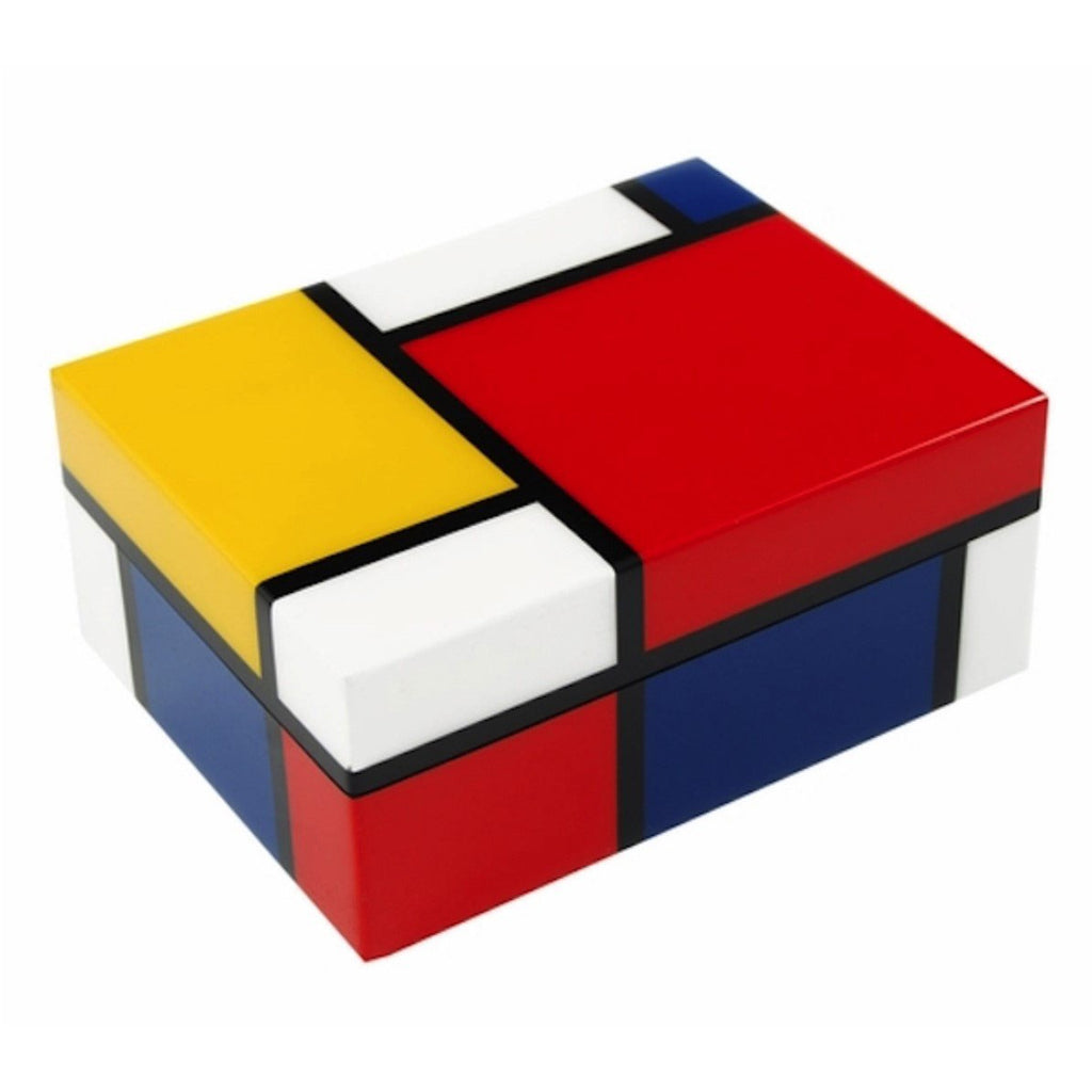 Piet Mondrian Medium Lacquer Box