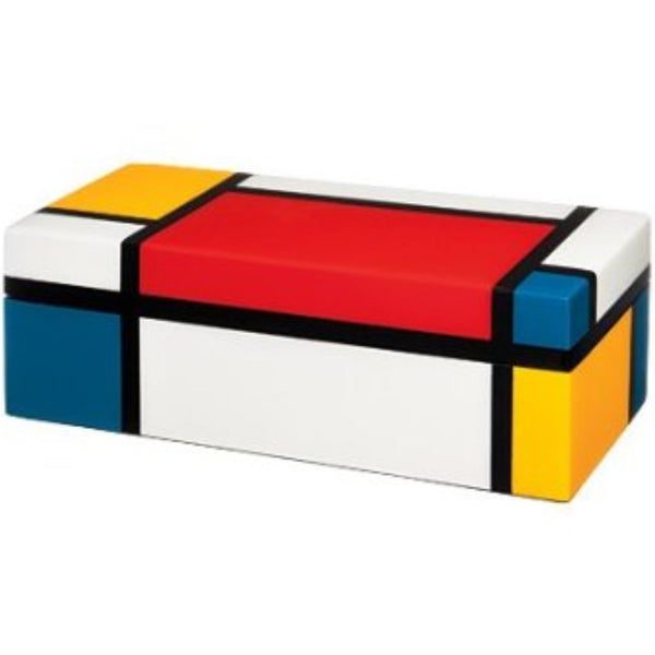 Piet Mondrian Lacquer Pencil Box