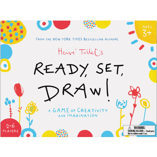 Ready, Set, Draw! A Game of Creativity and Imagination by Hervé Tullet
