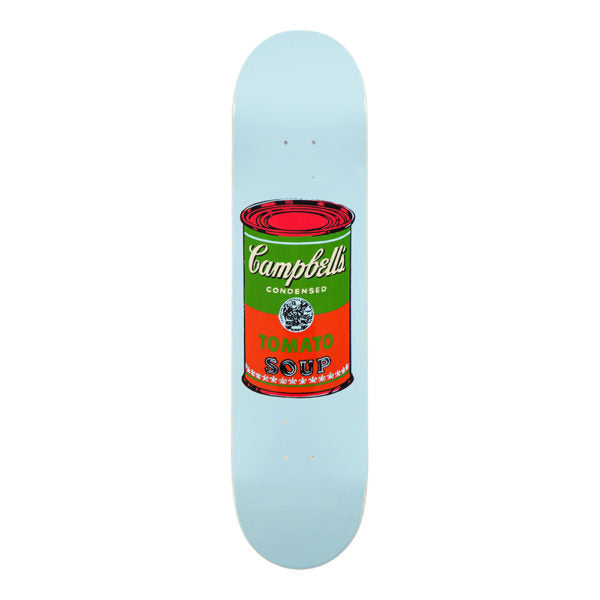 Andy Warhol Campbell's Soup Can Red Skateboard Deck