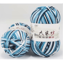 Load image into Gallery viewer, Variegated Milk Cotton Yarn (☁️ Brand)