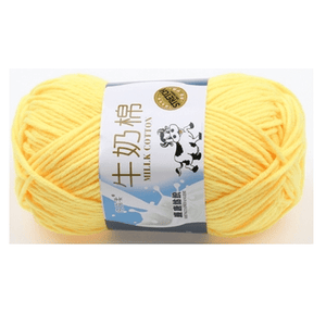 Milk Cotton Yarn (🐄 Brand)