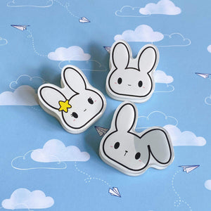 Memo & Friends Acrylic Clips